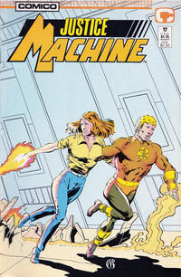 Cover Thumbnail for Justice Machine (Comico, 1987 series) #17