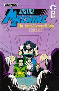 Cover Thumbnail for Justice Machine (Comico, 1987 series) #21