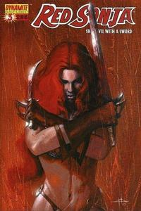 Cover Thumbnail for Red Sonja (Dynamite Entertainment, 2005 series) #3 [Gabrielle Dell'Otti Cover]