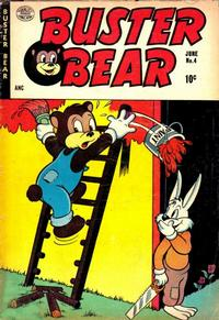Cover Thumbnail for Buster Bear (Quality Comics, 1953 series) #4