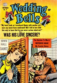 Cover Thumbnail for Wedding Bells (Quality Comics, 1954 series) #5