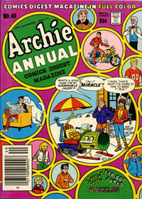 Cover Thumbnail for Archie Annual Digest (Archie, 1975 series) #40