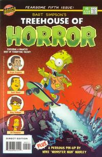 Cover for Treehouse of Horror (Bongo, 1995 series) #5
