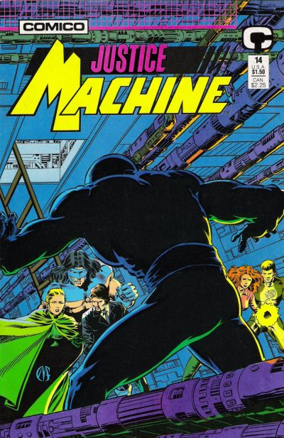 Cover for Justice Machine (1987 series) #14