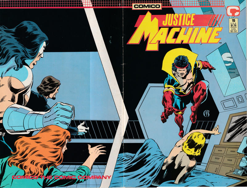 Cover for Justice Machine (Comico, 1987 series) #15