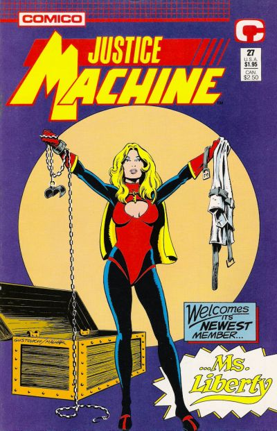 Cover for Justice Machine (1987 series) #27