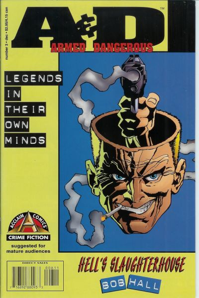 Cover for Armed and Dangerous Hell's Slaughterhouse (Acclaim / Valiant, 1996 series) #3 (8)