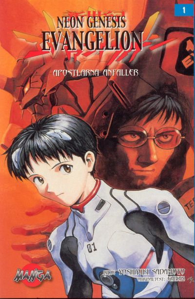 Cover for Neon Genesis Evangelion (Bonnier Carlsen, 2004 series) #1