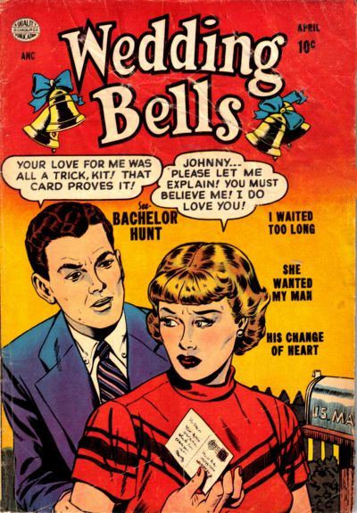 Cover for Wedding Bells (Quality Comics, 1954 series) #2