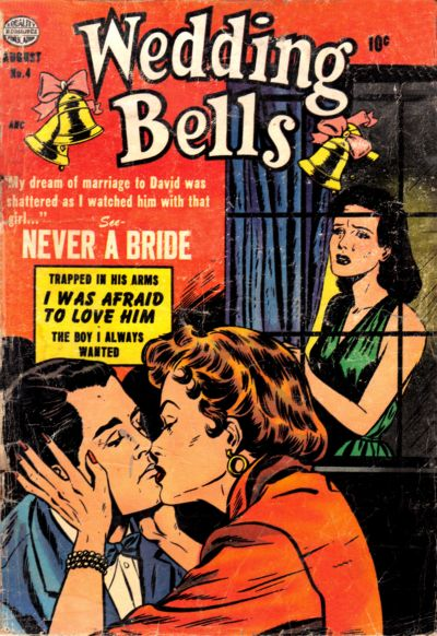 Cover for Wedding Bells (Quality Comics, 1954 series) #4