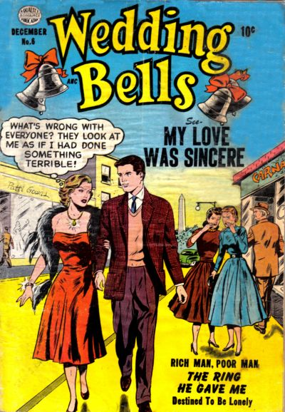 Cover for Wedding Bells (Quality Comics, 1954 series) #6