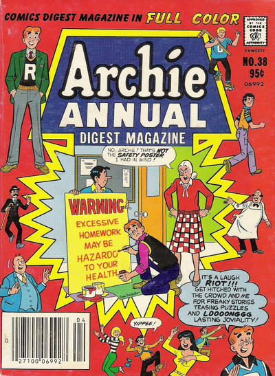 Cover for Archie Annual Digest (Archie, 1975 series) #38
