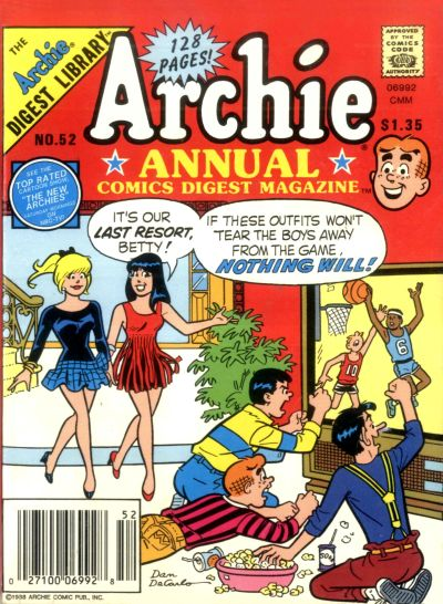Cover for Archie Annual Digest (1975 series) #52