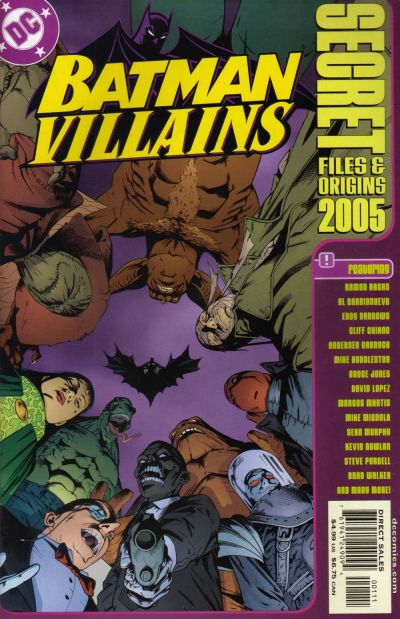 Cover for Batman Villains Secret Files and Origins 2005 (DC, 2005 series) #[nn]
