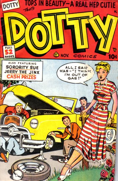 Cover for Dotty (1948 series) #37
