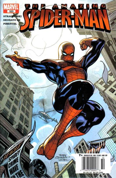 Cover for The Amazing Spider-Man (1999 series) #523