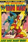 Cover for Iron Man (Marvel, 1968 series) #46
