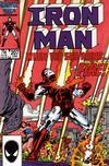 Cover for Iron Man (1968 series) #207 [Direct Edition]