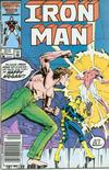 Cover Thumbnail for Iron Man (1968 series) #210 [Newsstand Edition]
