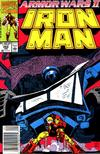 Cover for Iron Man (1968 series) #264 [Direct Edition]