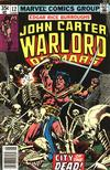 Cover for John Carter Warlord of Mars (Marvel, 1977 series) #12