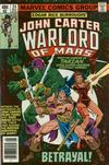 Cover for John Carter Warlord of Mars (Marvel, 1977 series) #24