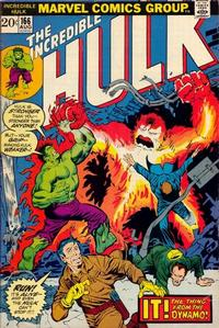 Cover Thumbnail for The Incredible Hulk (Marvel, 1968 series) #166 [Regular Edition]