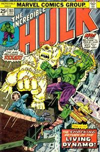 Cover Thumbnail for The Incredible Hulk (Marvel, 1968 series) #183