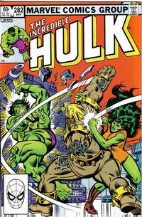 Cover Thumbnail for The Incredible Hulk (Marvel, 1968 series) #282 [Direct Edition]
