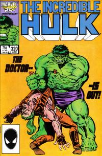 Cover Thumbnail for The Incredible Hulk (Marvel, 1968 series) #320 [Direct Edition]