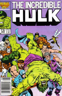 Cover Thumbnail for The Incredible Hulk (Marvel, 1968 series) #322 [Newsstand Edition]