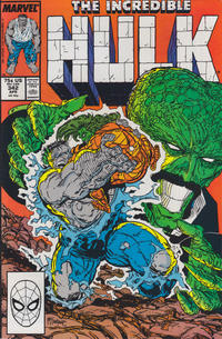 Cover Thumbnail for The Incredible Hulk (Marvel, 1968 series) #342 [Direct Edition]