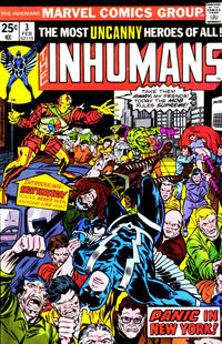 Cover Thumbnail for The Inhumans (Marvel, 1975 series) #3