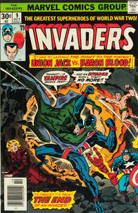 Cover Thumbnail for The Invaders (Marvel, 1975 series) #9 [Regular Edition]