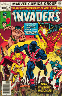 Cover Thumbnail for The Invaders (Marvel, 1975 series) #20 [30 cent cover price]