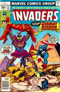 Cover Thumbnail for The Invaders (Marvel, 1975 series) #25