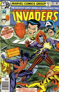 Cover Thumbnail for The Invaders (Marvel, 1975 series) #34 [Regular Edition]