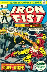 Cover Thumbnail for Iron Fist (Marvel, 1975 series) #1