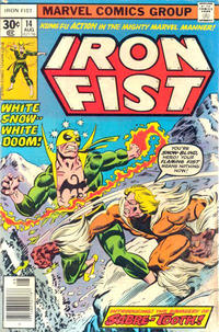 Cover Thumbnail for Iron Fist (Marvel, 1975 series) #14 [30¢ Cover Price]