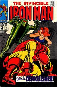 Cover Thumbnail for Iron Man (Marvel, 1968 series) #2
