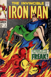 Cover for Iron Man (Marvel, 1968 series) #3