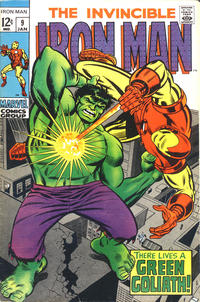 Cover for Iron Man (1968 series) #9
