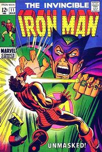 Cover for Iron Man (1968 series) #11