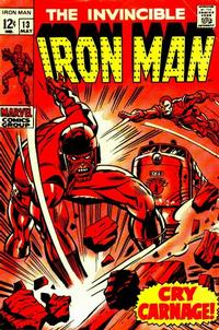 Cover for Iron Man (1968 series) #13