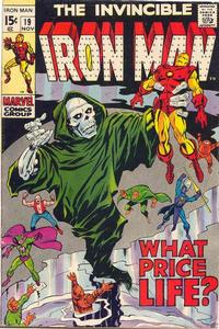 Cover Thumbnail for Iron Man (Marvel, 1968 series) #19 [Regular Edition]