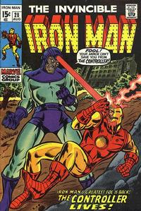 Cover for Iron Man (1968 series) #28