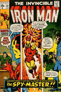 Cover for Iron Man (Marvel, 1968 series) #33 [Regular Edition]