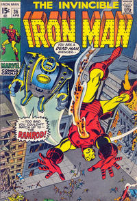 Cover Thumbnail for Iron Man (Marvel, 1968 series) #36 [Regular Edition]