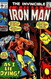 Cover for Iron Man (Marvel, 1968 series) #37