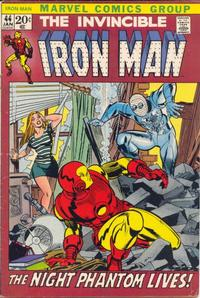 Cover Thumbnail for Iron Man (Marvel, 1968 series) #44